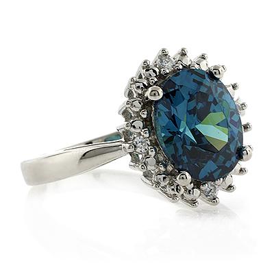Engagement Alexandrite Ring | SilverBestBuy