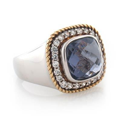 Inspired amethyst ring silverbestbuy for David yurman inspired jewelry rings
