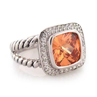 Inspired citrine ring silverbestbuy for David yurman inspired jewelry rings