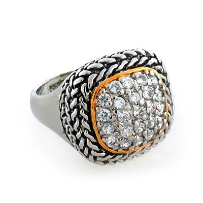 Inspired ring silverbestbuy for David yurman inspired jewelry rings