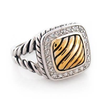 Inspired voreno ring for David yurman inspired jewelry rings