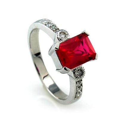 sterling silver ruby ring silverbestbuy