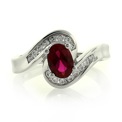 ruby ring ruby ring in sterling silver