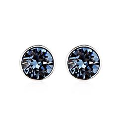 Blue Montana Swarovski Crystal Earrings
