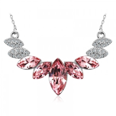 Amazing Pink Swarovski Necklace