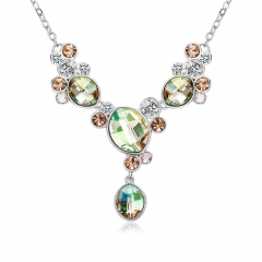 Beautiful Green Swarovski Necklace