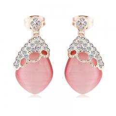 Elegant Pink Earrings