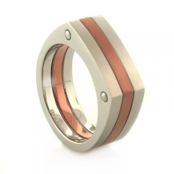 Havana Stainless Steel Ring