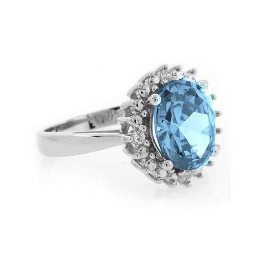 sterling silver aquamarine ring silver best buy