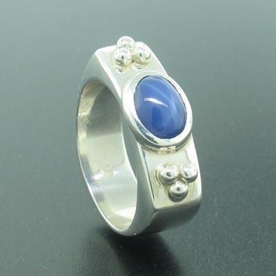 genuine star sapphire ring - photo #17