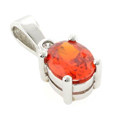 Cherry fire opal pendant silverbestbuy cherry fire opal pendant aloadofball Image collections