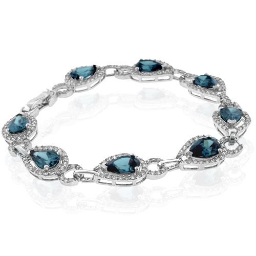 Alexandrite Bracelet Pear Cut Stone