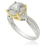 .925 Silver Solitaire Ring