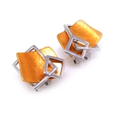 D'Manis Silver Earrings