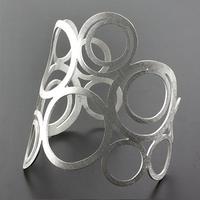 Sterling Silver Circle Bios Bracelet
