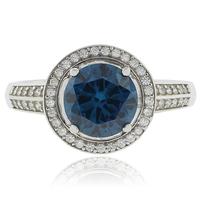 Pear Cut Alexandrite Silver 925 Ring