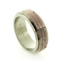 Havana Stainless Steel Ring
