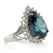Alexandrite Change Color Silver Ring