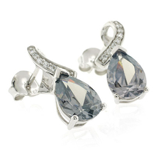 Alexandrite Sterling Silver Earrings