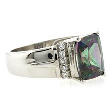 Rainbow Mystic Topaz Gemstone Ring