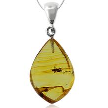 Genuine Amber Mosquito Pendant