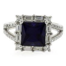 Princess Cut High Quality Sapphire Ring