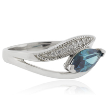 Marquise Cut Alexandrite Silver 925 Ring