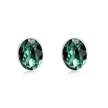 Gorgeous Green Swarovski Earrings