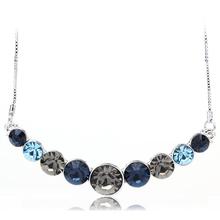 Amazing Circles Swarovski Necklace