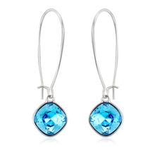 Beautiful Long Blue Earrings