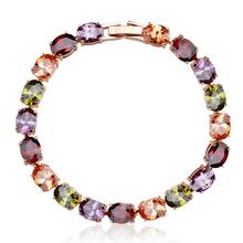 Beautiful Colored Swarovski Bracelet