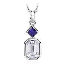 Wonderful Sawarovski Color Crystal Necklace