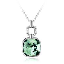 Pretty Green Swarovski Necklace