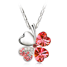 Red Clover Necklace