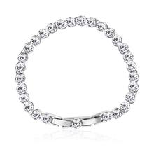 Amazing White Swarovski Crystal Bracelet