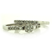 14K White Gold Diamond Ring 0.50 Carat