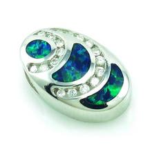 Elegant Australian Opal Pendant