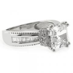 Princess Cut High Quality Engagement Ring