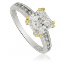 Sterling Silver Compromise Ring