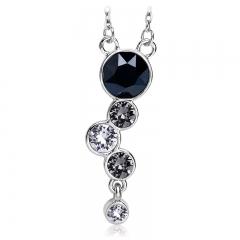 Swarovski Necklace Black Color