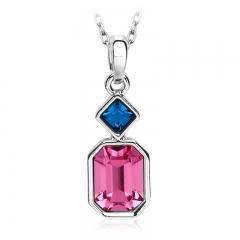 Pretty Pink Swarovski Necklace