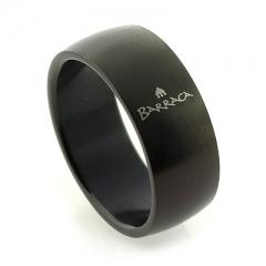 Barraca Black Stainless Steel Ring