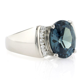 Sterling Silver Alexandrite Color Change Ring