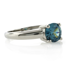 Solitaire Alexandrite Ring