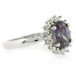 Fire Mystic Topaz Ring