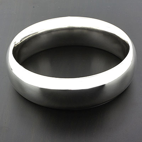 Sterling Silver Round Bracelet Tiffany Style