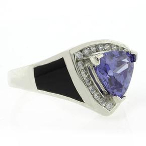 Onyx Silver Ring