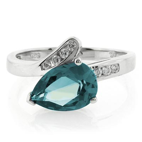 Alexandrite Ring Changing Color Stone