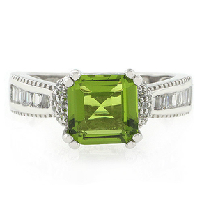 Majestic Peridot Ring