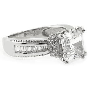 Princess Cut High Quality Engagement Ring